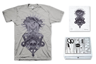 LTD Tee - 3 Serpents T-Shirt & Art Print Box Set by Yana Moskaluk