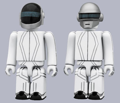 Disney x Medicom TRON: Legacy Daft Punk 100% Kubrick 2 Pack