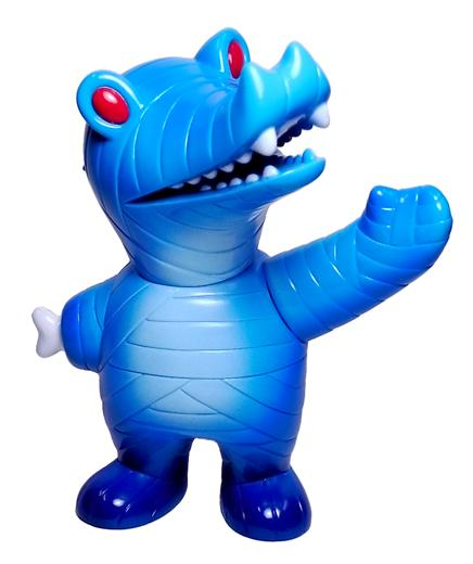 Dark Blue Mummy Gator with Light Blue Spray by Super7
