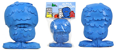 Alpha Globulon Blue Unpainted 5 Inch Resin Figure by Abe Lincoln Jr.