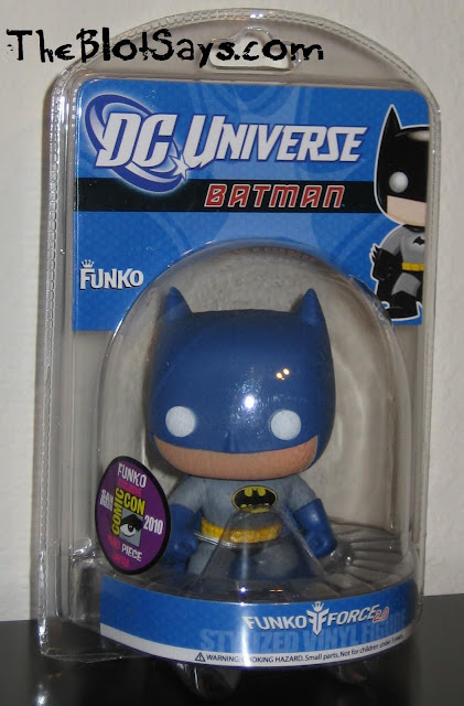 San Diego Comic-Con 2010 Exclusive Blue and Gray Batman DC Universe Pop! Heroes Vinyl Figure