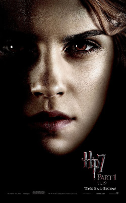 Harry Potter and the Deathly Hallows Part 1 Portrait Movie Poster Set - Emma Watson as Hermione Granger