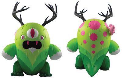 Designer Con Exclusive Green Monster Edition Destroyer Vinyl Figure by Buff Monster