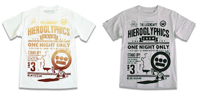 Gold Coin x Hieroglyphics The Hieroman Collection - The Legendary T-Shirt