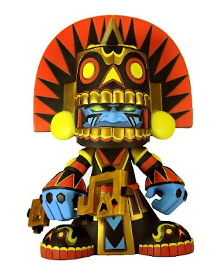 Mictlan Vinyl Figure Original Colorway by Jesse Hernandez