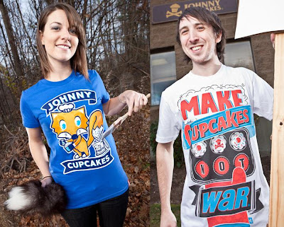 Johnny Cupcakes Black Friday 2010 Releases - Frosting Fox &amp; War ('10) T-Shirts