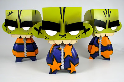 Green Variant Mork Custom Mad&#8217;l Set Blind Box Edition (Stripes, Stars &amp; Clouds) by MAD