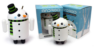 Snowman Special Edition Android Vinyl Figure by Gary Ham