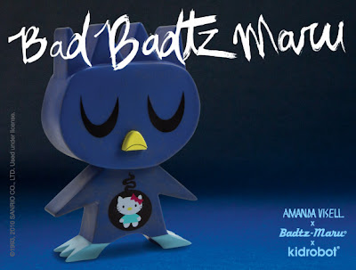 Kidrobot x Sanrio Bad Badtz Maru Vinyl Figure by Amanda Visell