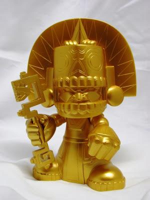 Chase Gold Edition Mictlan Vinyl Figure by Jesse Hernandez