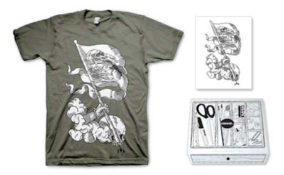 LTD Tee - Freak Flag T-Shirt & Art Print Box Set by KOA