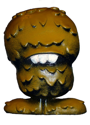 Chocolat Allemonde Globulon Resin Figure by Abe Lincoln Jr.