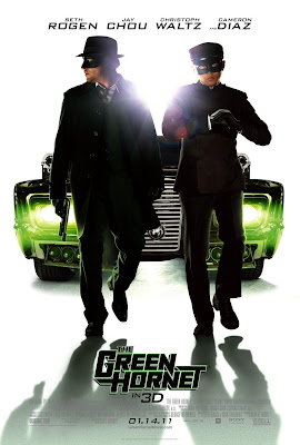The Green Hornet One Sheet Movie Poster