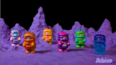 Hand Painted Mini Patty Power Resin Figures by Arbito