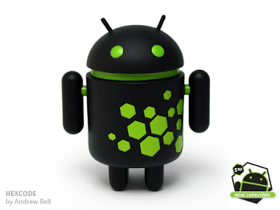 Android Series 02 - Hexcode Vinyl Figure by Andrew Bell