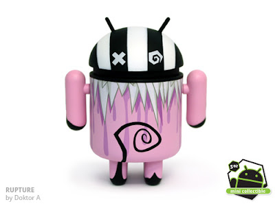 Android Series 02 - Rupture Vinyl Figure by Doktor A