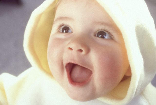 Cute Baby Smiling Face