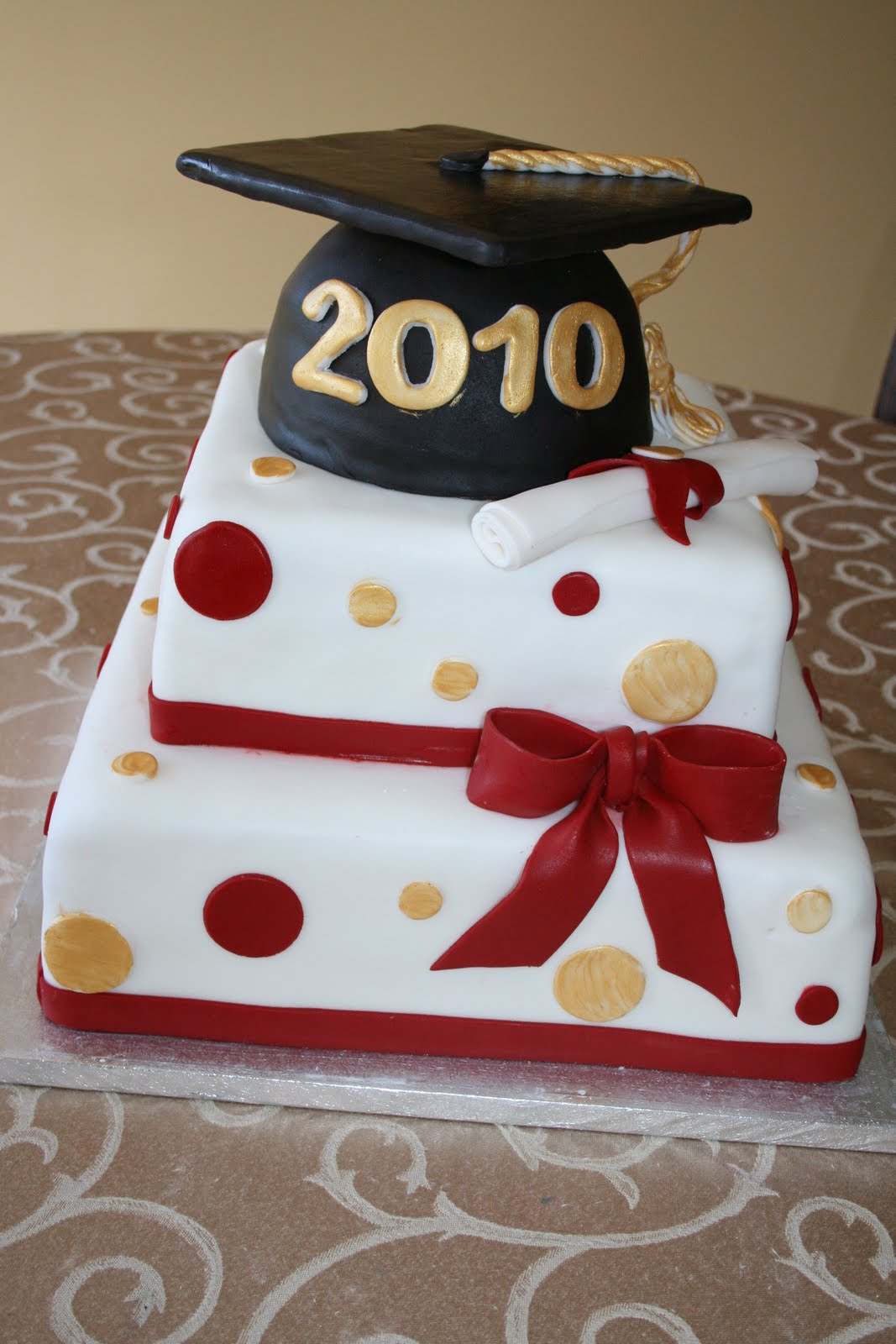 Images Of Graduation Cake : Irresistible Desserts: Graduation Cakes and Cupcakes