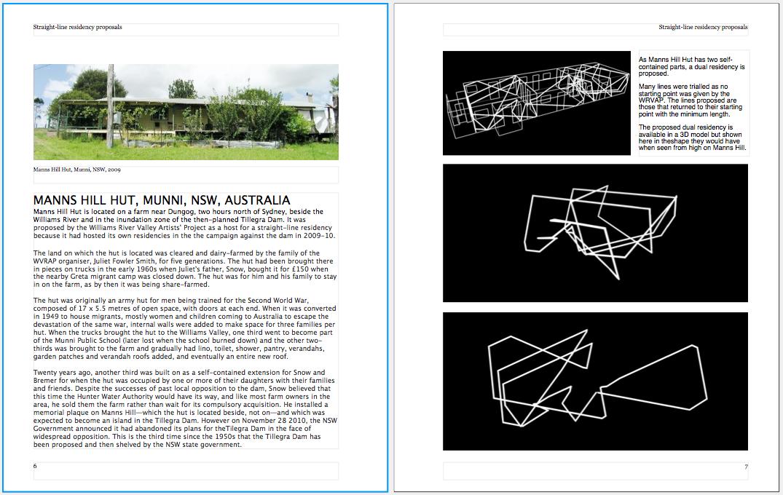 StraightLine Residency Project – Art Proposal Template
