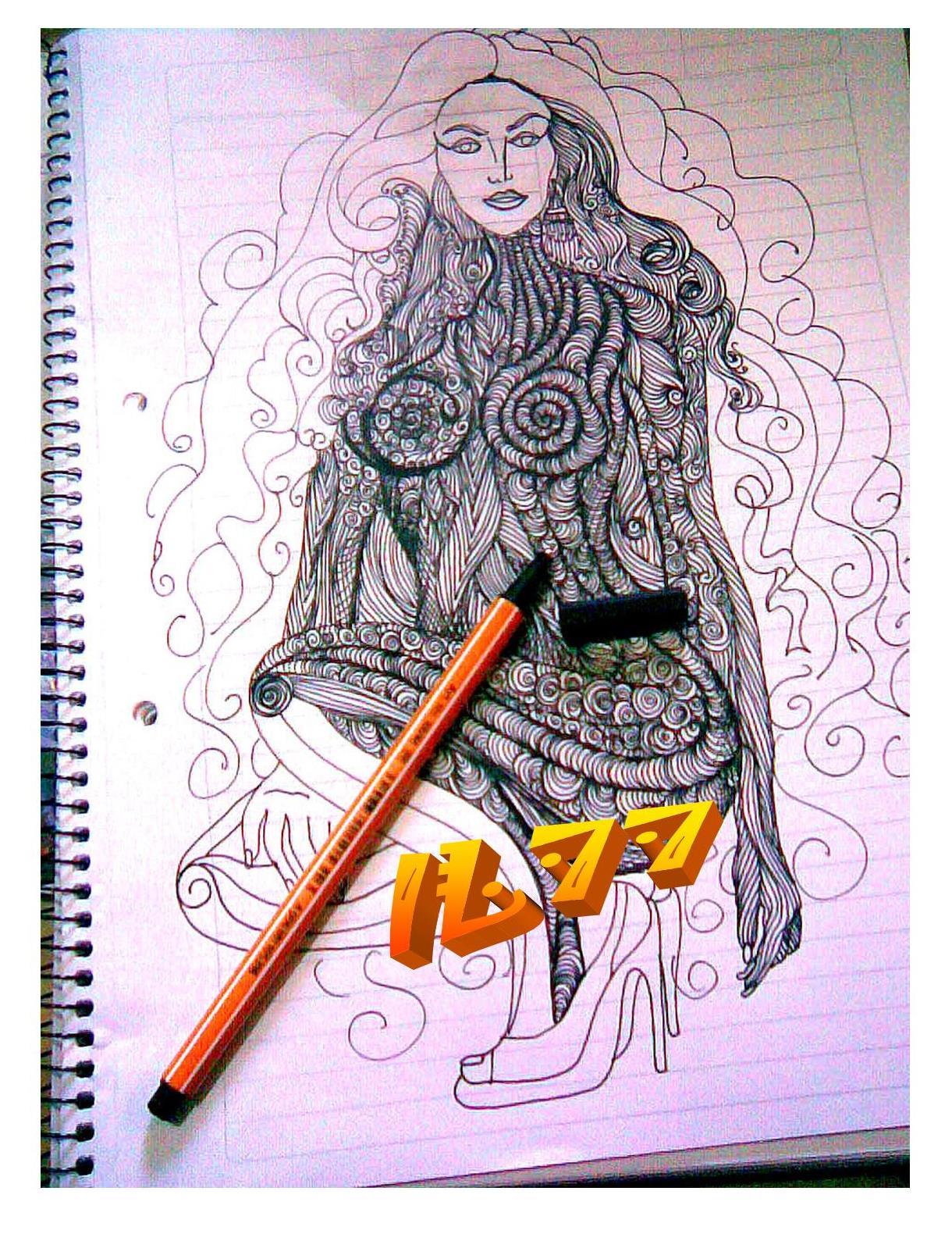 Mis primeros dibujos (Papel y Lapiz.)