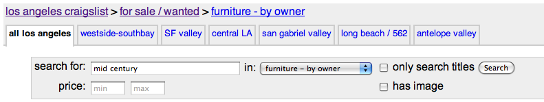 Craigslist Los Angeles Always Yields Amazing Mid Century Furniture Pieces.  I Love To Browse Just To See Whatu0027s Out There  And To Torture Myself.