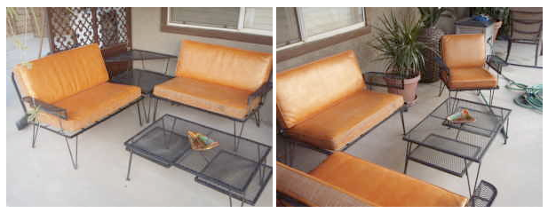 Mid Century Patio Furniture. Oh Wish I Had $900 To Splurge On This Amazing  Mid Century Atomic Patio Set! LOVE!!! Found It On Craigslist Los Angeles.