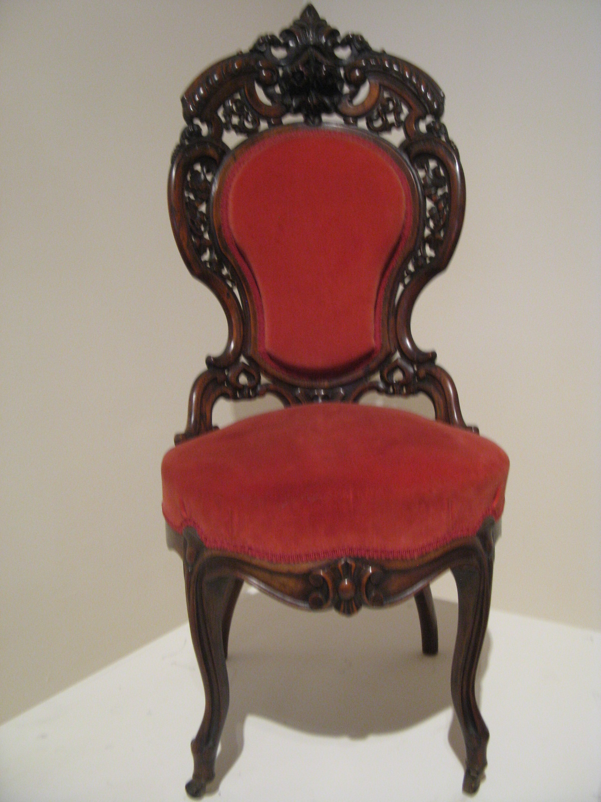 in fact most old time chairs were uncomfortable to sit in including