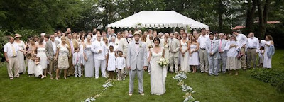 How To Wear White A Wedding Socialandpersonalweddings Ie V Guest Attire Tale Of Two Brides July 2009