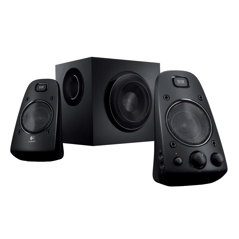 Audio for computer logitech z623 thx certified speaker for Woofer speaker system