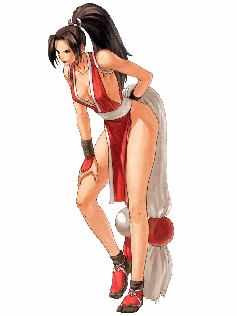Think, King of fighters mai shiranui remarkable
