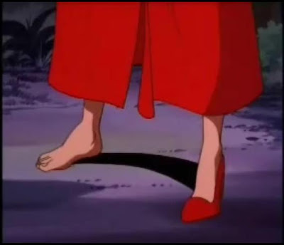 anime feet. Carmen Sandiego Feet (Bonus)