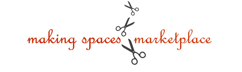 Making Spaces Marketplace * Made From Pretty Little Things