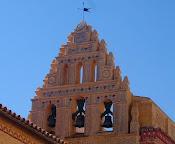 El campanario del Convento de Santa Clara