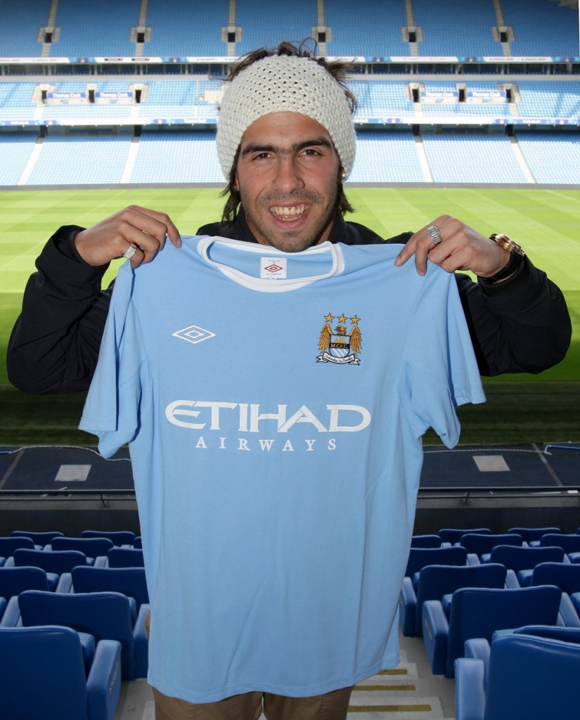 ... and Blue Army: Tevez is not leaving Man. City, at least not right away