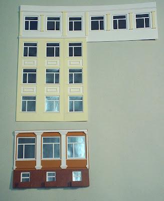 Как сделать разрез фасада