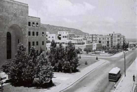 Haifa city hall -early 50&#39;s