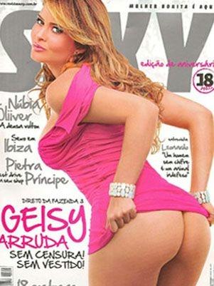 Re O Que Revista Sey De Geisy Arruda A Mais Vendida Em Cinco