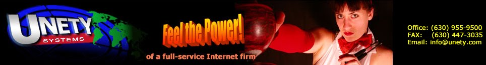 UNETY Systems, Inc. - Feel the Power of a Full-Service Internet Firm