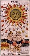 le soleil signification interpretation arcane tarot