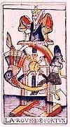 roue de fortune tarot signification interpretation