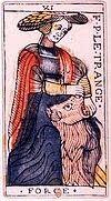 la force signification carte tarot