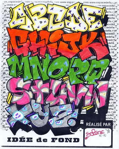 letras graffity. graffiti letters alphabet.