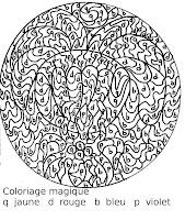 Coloriage Magique Fleur Maternelle.Maternelle Coloriage Magique Fleur