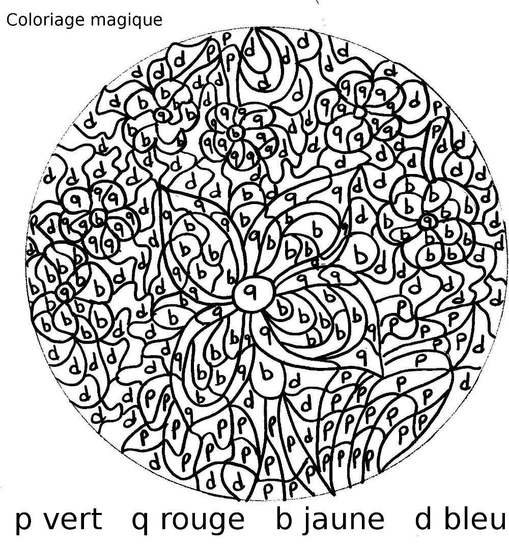 maternelle coloriages magiques de printemps avec des fleurs