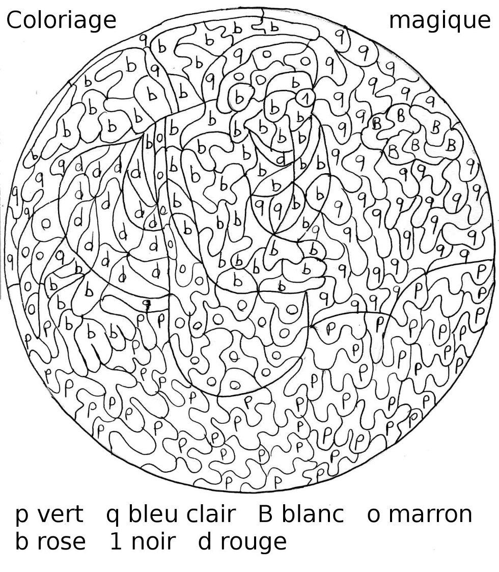 Maternelle coloriage magique le sagoinfre - Coloriage magique multiplication a imprimer ...