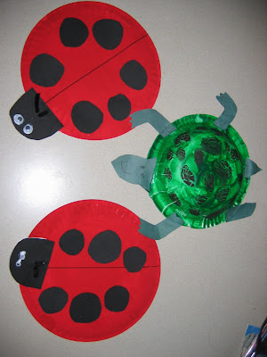 Paper Plate Lady Bugs and Bowl Turtles & Lucky Me!: Paper Plate Lady Bugs and Bowl Turtles