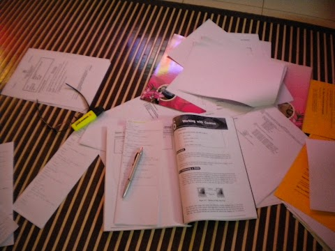 Long time ago : Studying While Working..