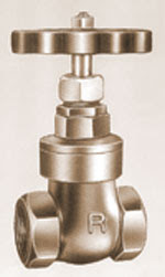 Bronze Gate Valves - Screwed End Valves