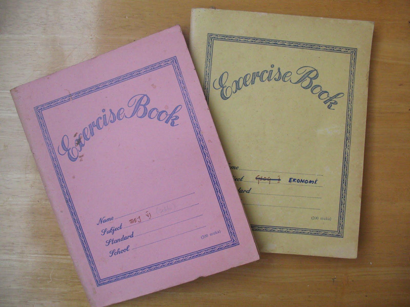 Dibeli di kedai buku biasa sahaja dan mengandungi 200 muka surat ...