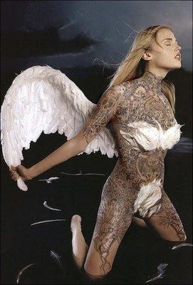 Sexy tattoos angel tattoo ideas for Sexy angel tattoo